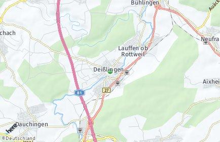 Stadtplan Deißlingen