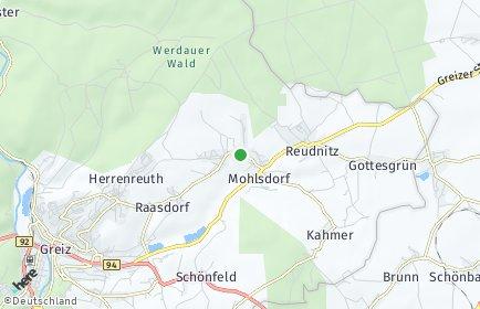 Stadtplan Mohlsdorf-Teichwolframsdorf