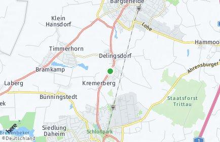 Stadtplan Delingsdorf