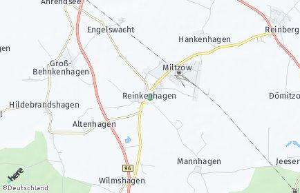 Stadtplan Sundhagen