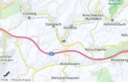 Stadtplan Dellfeld