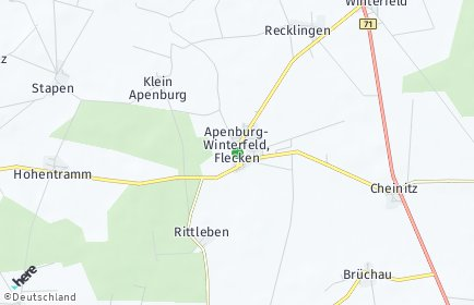 Stadtplan Apenburg-Winterfeld