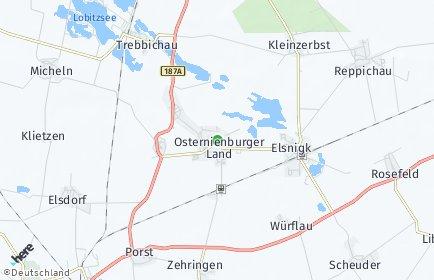 Stadtplan Osternienburger Land