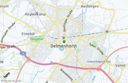 Stadtplan Delmenhorst