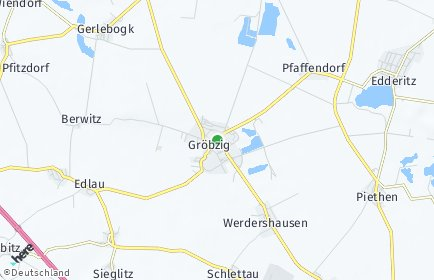 Stadtplan Südliches Anhalt OT Quellendorf