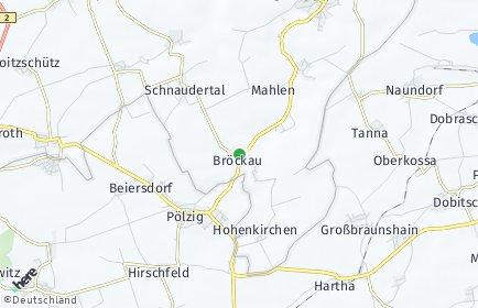 Stadtplan Schnaudertal