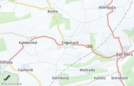 Stadtplan Finneland
