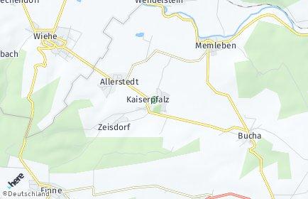 Stadtplan Kaiserpfalz