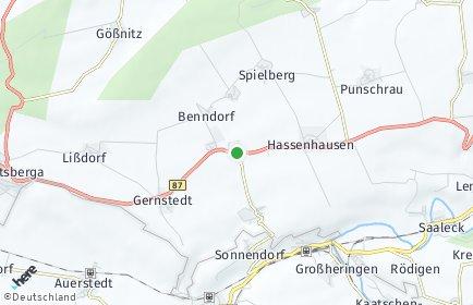 Stadtplan Lanitz-Hassel-Tal