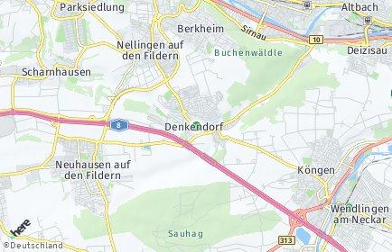 Stadtplan Denkendorf (Württemberg)