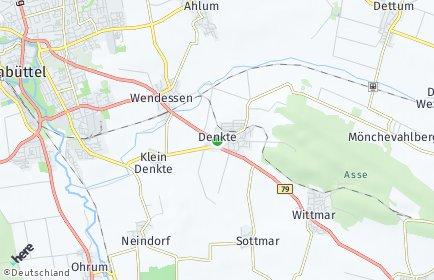 Stadtplan Denkte