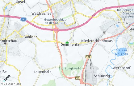 Stadtplan Dennheritz