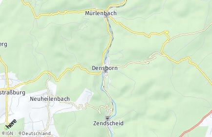 Stadtplan Densborn