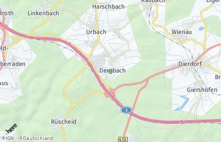Stadtplan Dernbach (Kreis Neuwied)