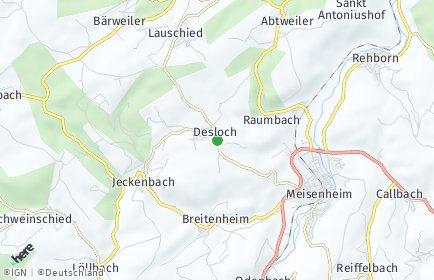 Stadtplan Desloch