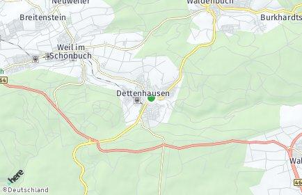 Stadtplan Dettenhausen