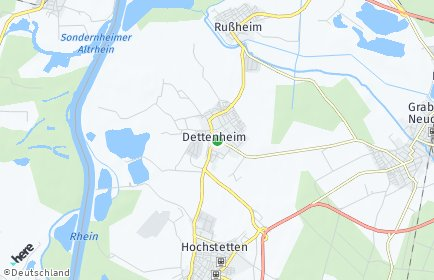 Stadtplan Dettenheim