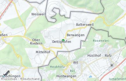 Stadtplan Dettighofen
