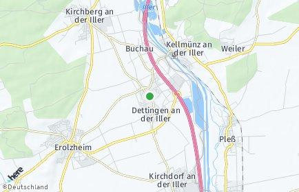 Stadtplan Dettingen an der Iller