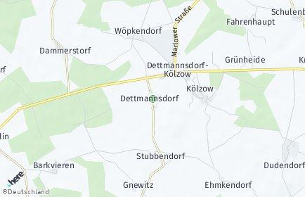Stadtplan Dettmannsdorf
