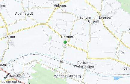Stadtplan Dettum