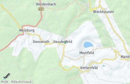 Stadtplan Deudesfeld