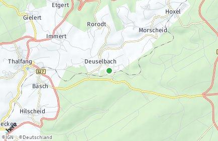 Stadtplan Deuselbach