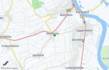 Stadtplan Dexheim