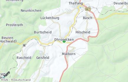 Stadtplan Dhronecken