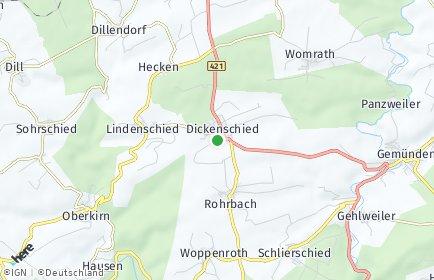 Stadtplan Dickenschied