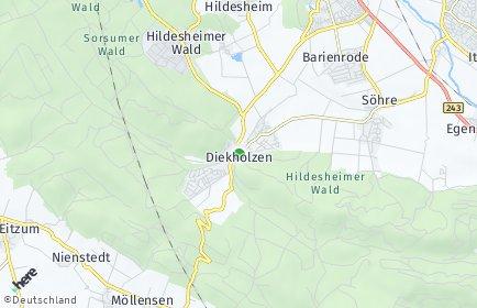 Stadtplan Diekholzen