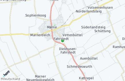 Stadtplan Diekhusen-Fahrstedt