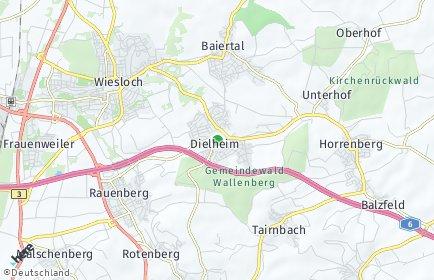 Stadtplan Dielheim