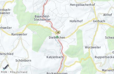 Stadtplan Dielkirchen