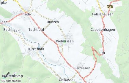 Stadtplan Dielmissen