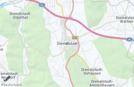 Stadtplan Diemelstadt
