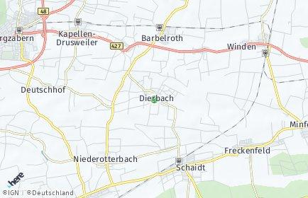 Stadtplan Dierbach