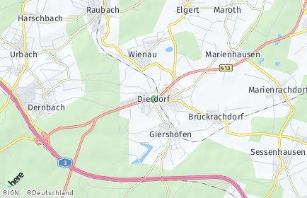 Stadtplan Dierdorf