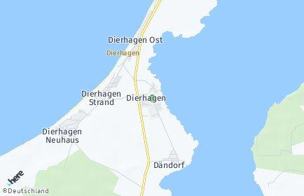 Stadtplan Dierhagen