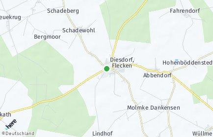 Stadtplan Diesdorf
