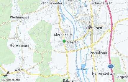 Stadtplan Dietenheim