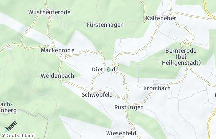 Stadtplan Dieterode
