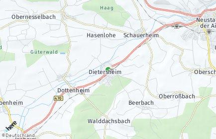 Stadtplan Dietersheim