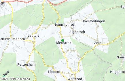 Stadtplan Diethardt