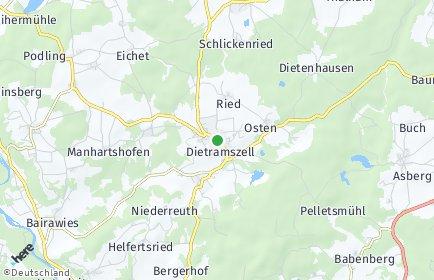 Stadtplan Dietramszell