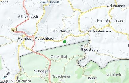 Stadtplan Dietrichingen