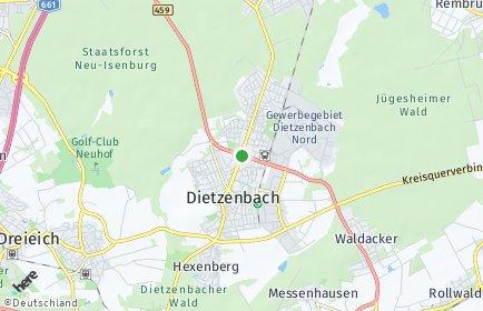 Stadtplan Dietzenbach