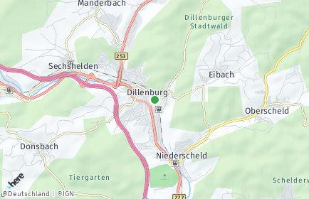 Stadtplan Dillenburg