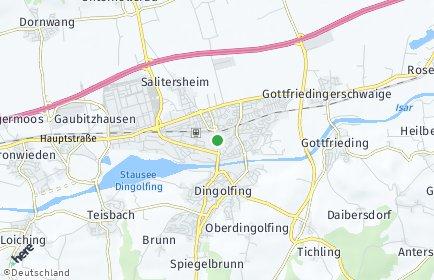 Stadtplan Dingolfing