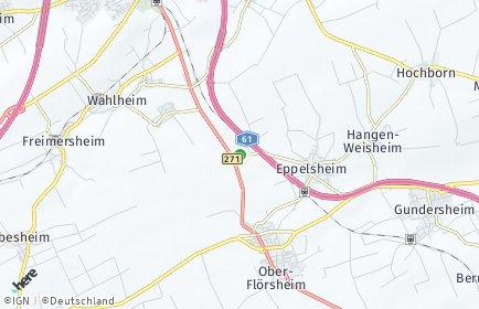 Stadtplan Dintesheim